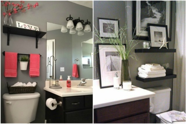 27 Creative Ways To Decorate A Small Bathroom Tiphero