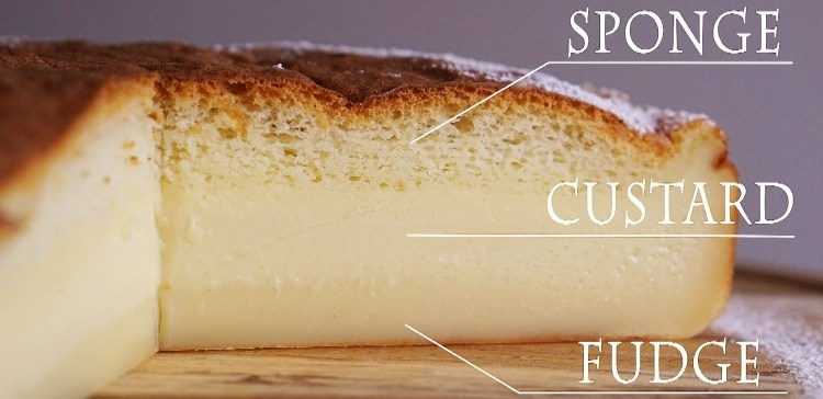 Image result for magic cake with three layers