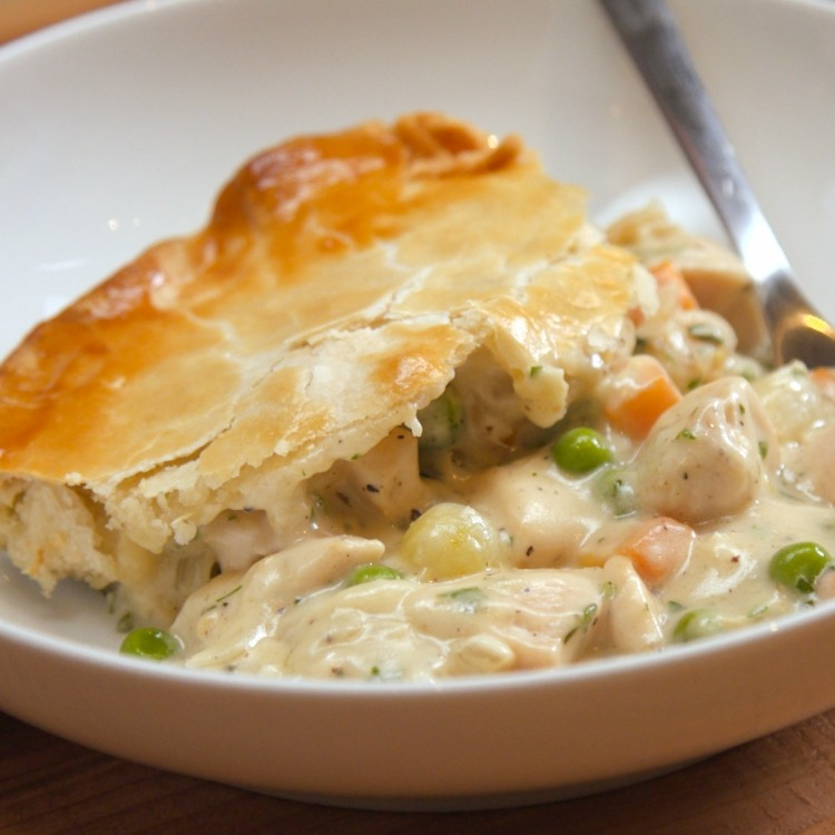 Image result for pictures of chicken pot pie