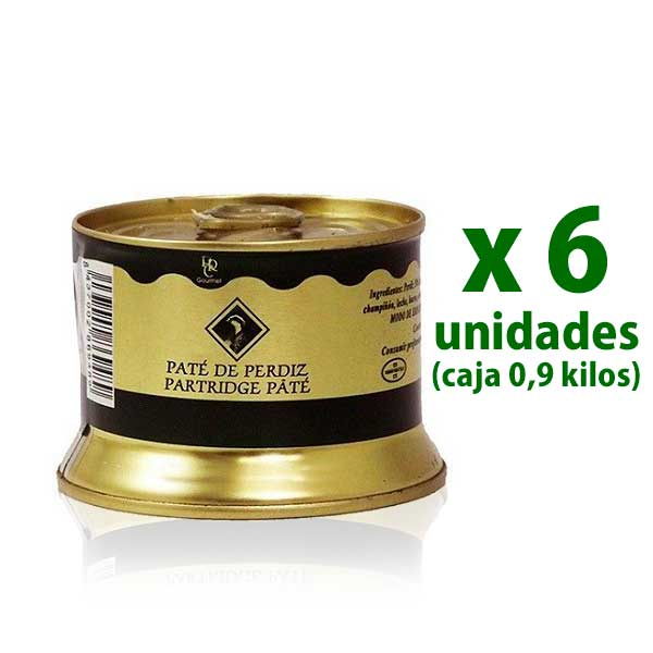 Paté de Perdiz Real Carolina, lata 150 gr x  6 uds