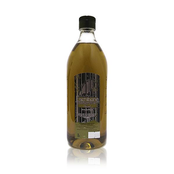 pet de un litro de aceite escribano oliva virgen extra