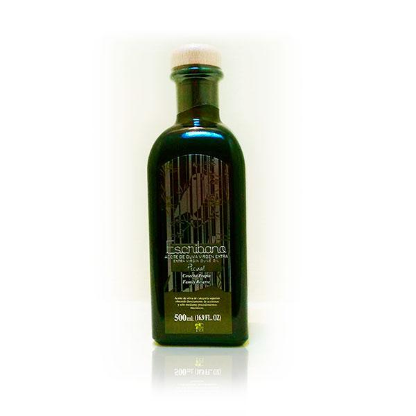 foto vidrio aceite escribano 500 ml