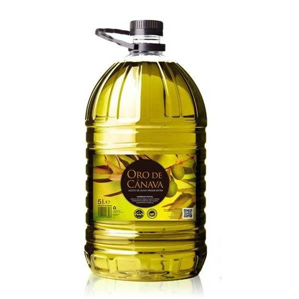 aceite de oliva de Jaén - Oro de Cánava pet 5 litros