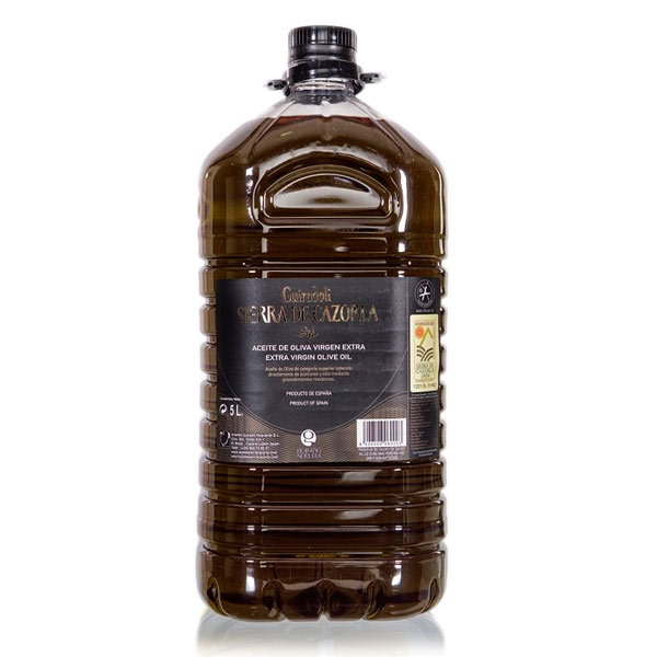 Aceite Sierra de Cazorla, garrafa 5 l
