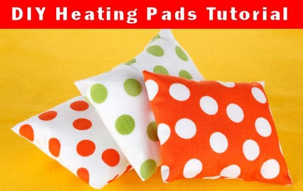 Super Easy (even for kids) Heating pad DIY Tutorial