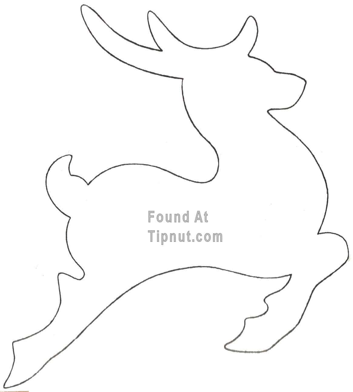 Build Diy Free Reindeer Cutouts Patterns Pdf Plans Wooden Free