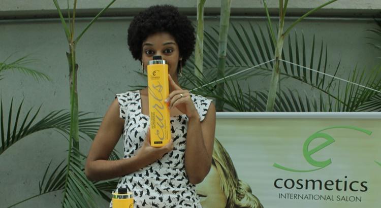 Linha E-Cosmetics específica para cachos chegou a Caruaru