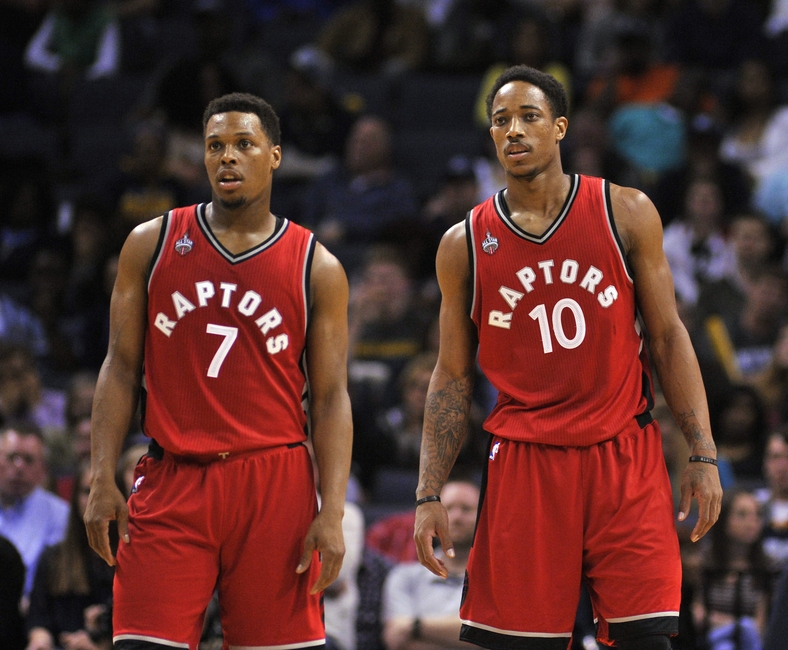 Image result for kyle lowry demar derozan