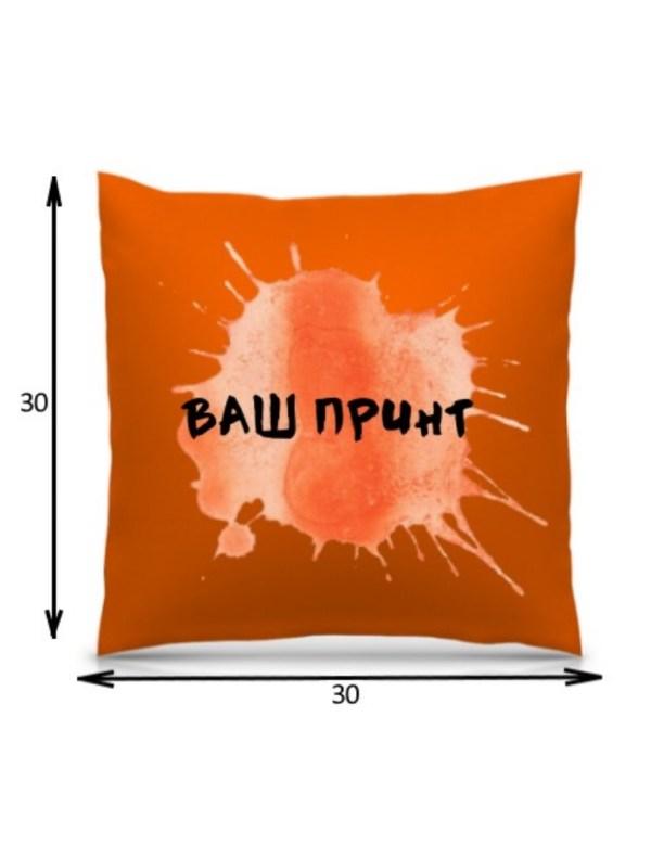 Подушка с печатью 3D (30*30 см)