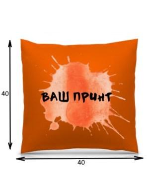 Подушка с печатью 3D (40*40 см)