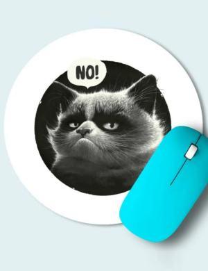 Коврик для с мыши печатью (Круглый)