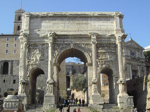 Resultat d'imatges de arquitectura romana