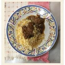 Baryani Rice, Baru Pahat with Chciken baryani and gravy