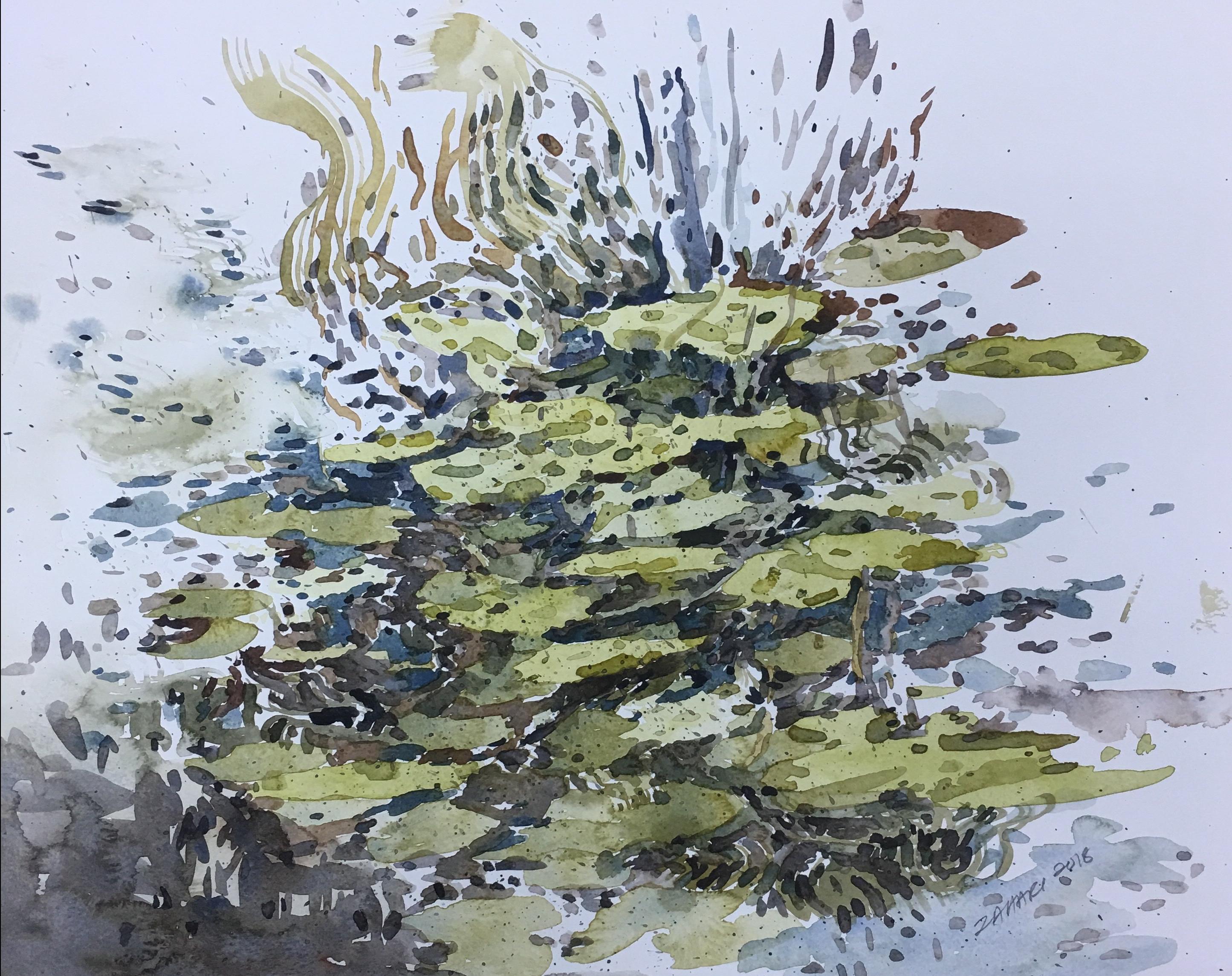 Artist: Zahari Hamidon Title: Water Lilies