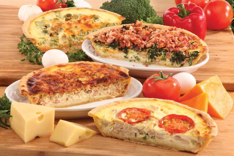 Tippin's savory quiches