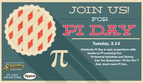 Pi Day: Tippin's Pies and Science City