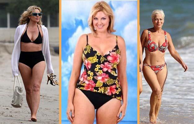 Bikini divat, 40 feletti hölgyeknek