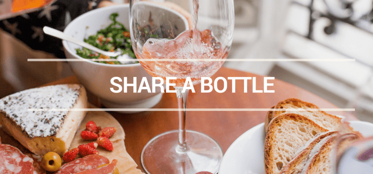 SHARE A BOTTLE