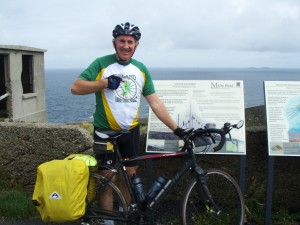 Dick Walsh at Malin Head July 28th