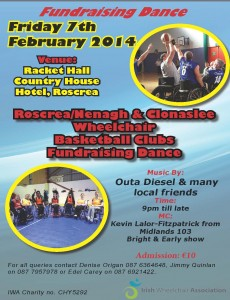 Irish Wheelchair Assocation,Racket Hall Country House Hotel, Roscrea,wheelchair basketball