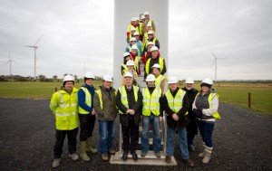 Councillors & Planners from South Tipperary Pictured at Lisheen Wind Farm on a recent Renewable Energy Tour of the County