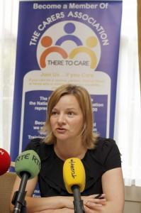Catherine Cox, spokesperson The Carers Association