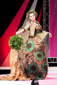 Dearbhaile Buckley wearing Horticouture