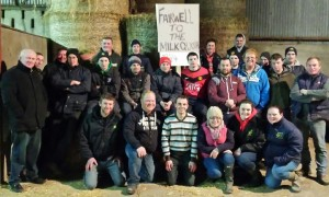 Young Farmers with Mr Jackie Cahill and Mr Aidan Power.