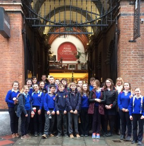 St. Josephs College Borrisoleigh Music Tour to Cork City Hall
