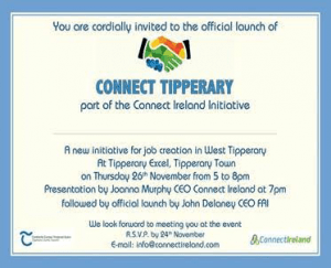 Official Launch Of Connect Tipperary In Excel Arts Centre