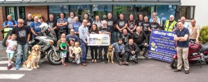 Blazing Bikers 9th Annual Motorbike Challenge Wild Atlantic Way Charity Challenge 2016 In aid of the Irish Guide Dogs for the Blind