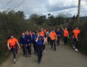 St. Joseph's College Borrisoleigh Cycle Against Suicide Sponsored Walk