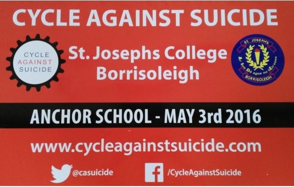cycle against suicide st josephs college
