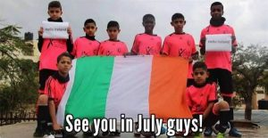 Gaza Under 14 Soccer Team to Visit Tipperary this Month
