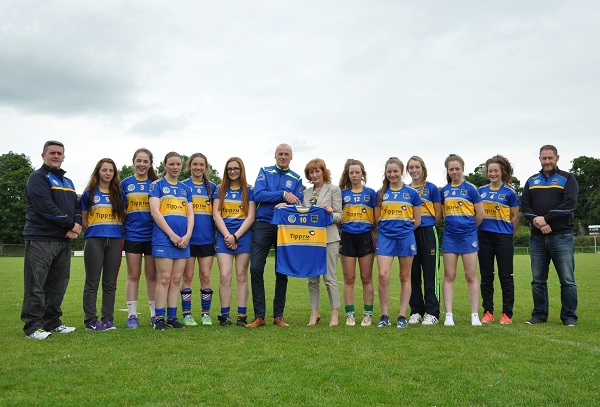 No 1 Under 16A Tipperary Camogie team tippFM
