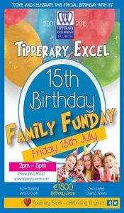 Tipperary Excel Celebrates 15th Birthday