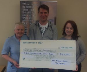 Dubliner Walks Wicklow Way For Cappagh Cause