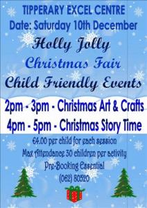 Holly Jolly Christmas Fair At The Excel Arts Centre