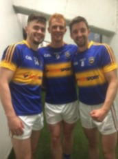 Michael Quinlivan, George Hannigan and Martin Dunne