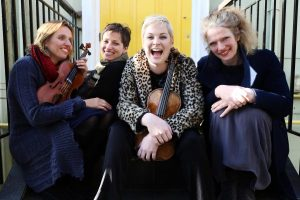 Music Network Presents An All-Violin Quartet At Birr Theatre & Arts Centre