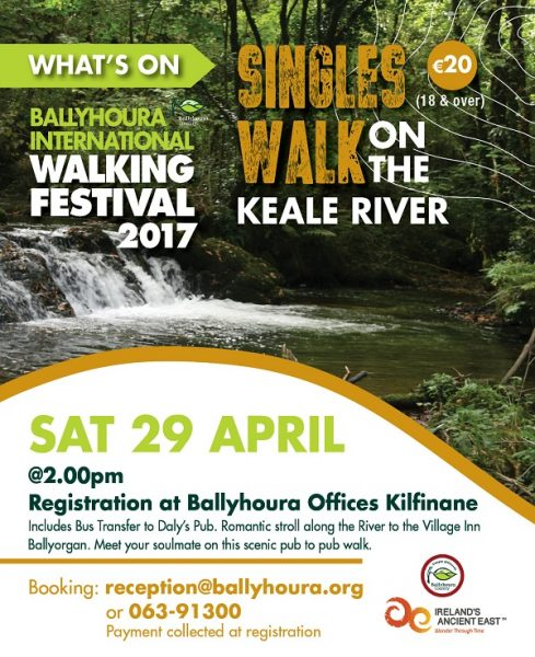 Ballyhoura 2017 Walking Festival singles walk