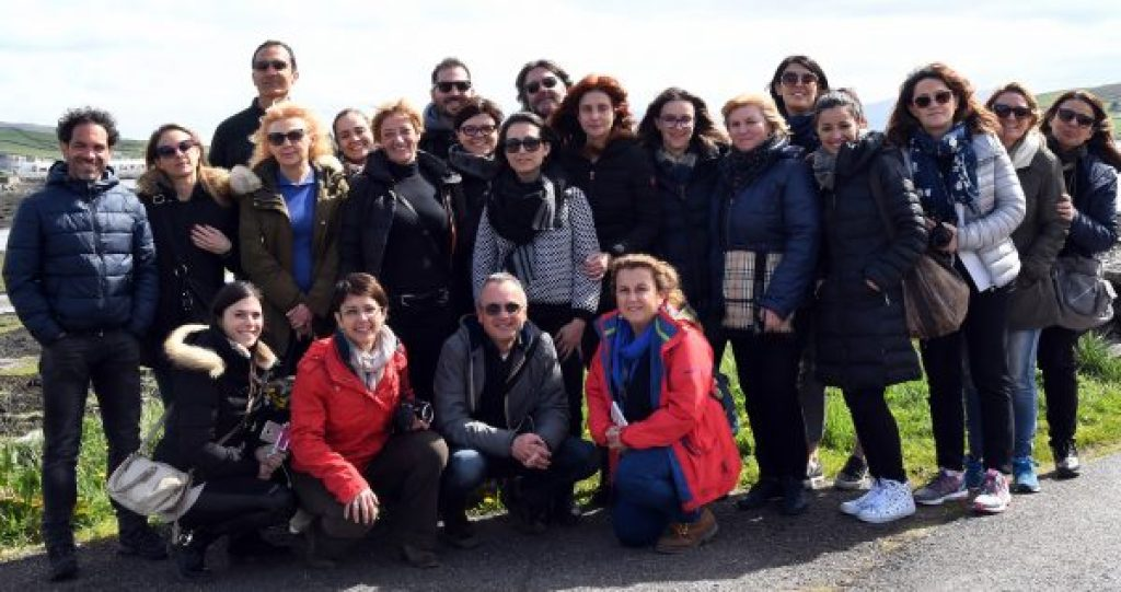 Italian travel agents find Cashel and Ireland 'eccellente'!
