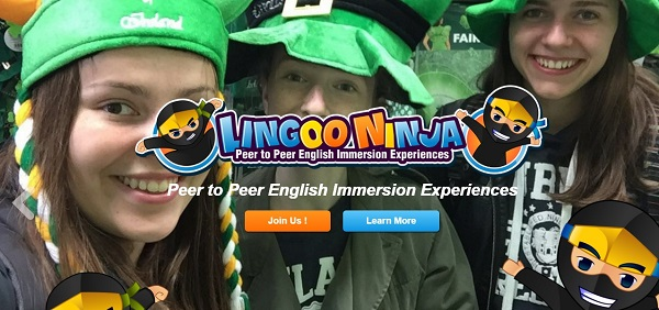 Lingoo Ninja learn English Immersion Ireland