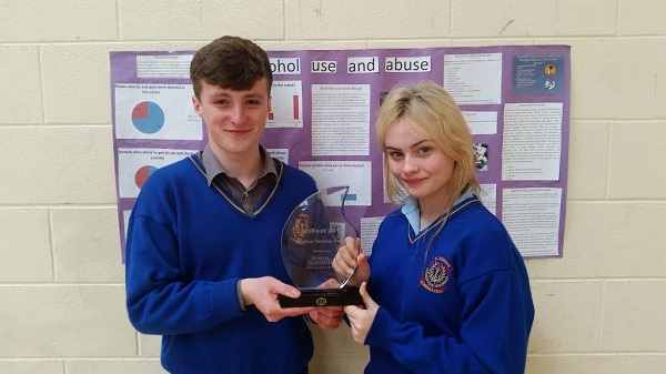 James Ryan, Ciara Kennedy, Scifest. Laura Slattery missing from photo