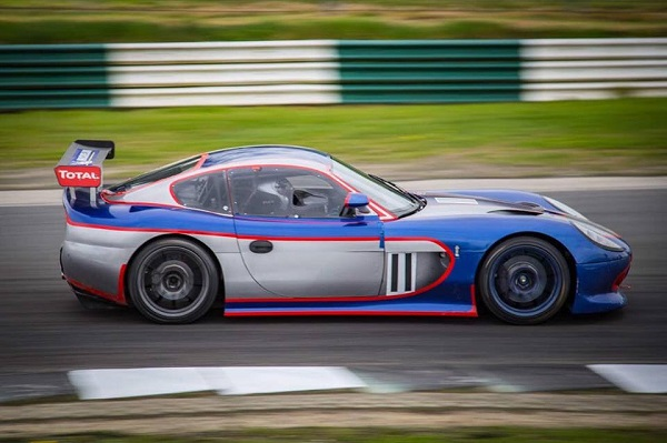 Nicole Drought at speed in the OPH Ginetta G50 at Mondello Park last week.   Photo Credit: Celtic Photography