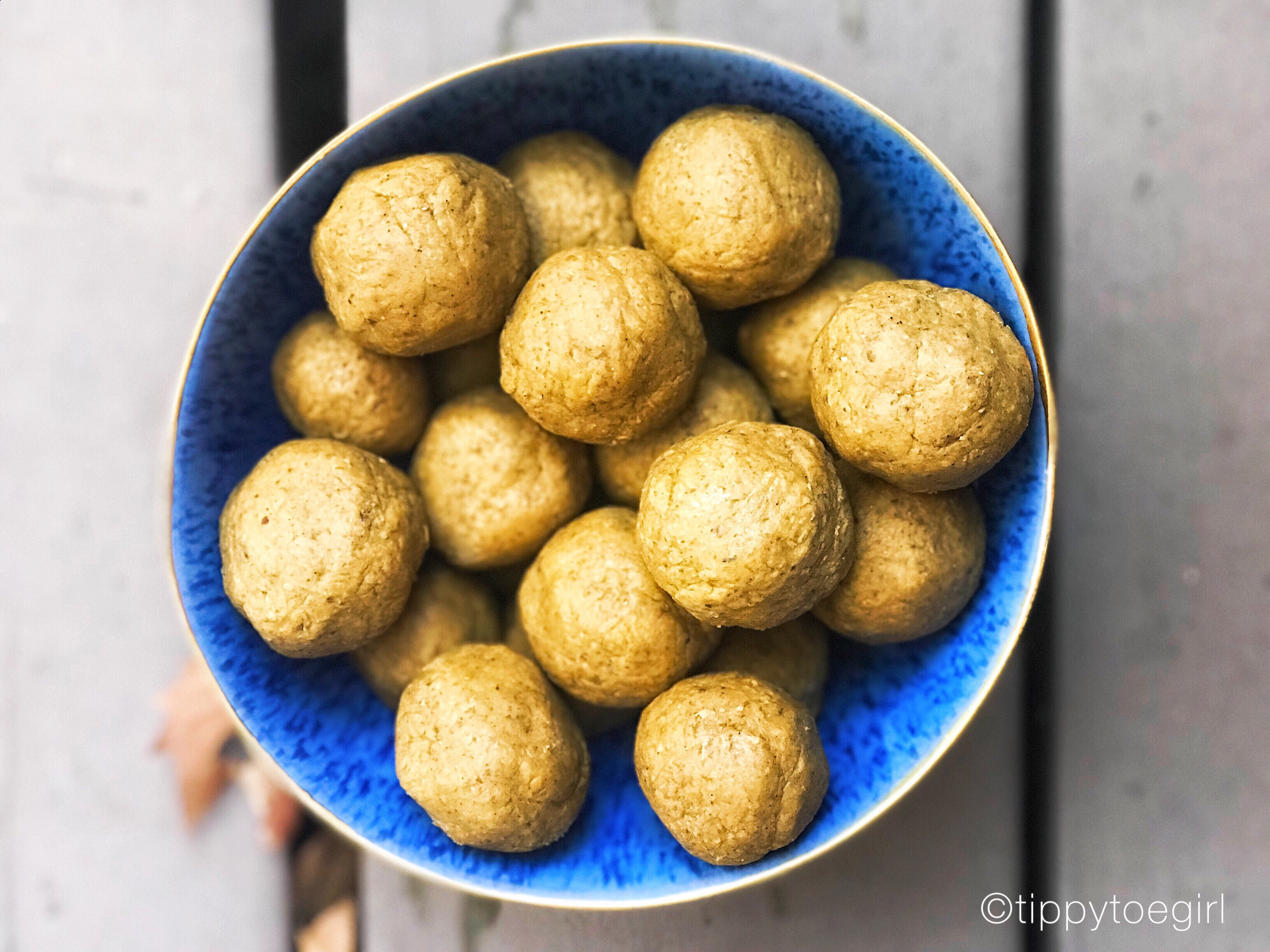 Pumpkin Pie Fat Balls
