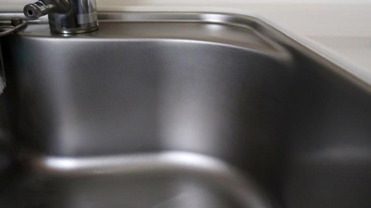 ステンレスの掃除。普通の水垢・しつこい水垢の掃除方法