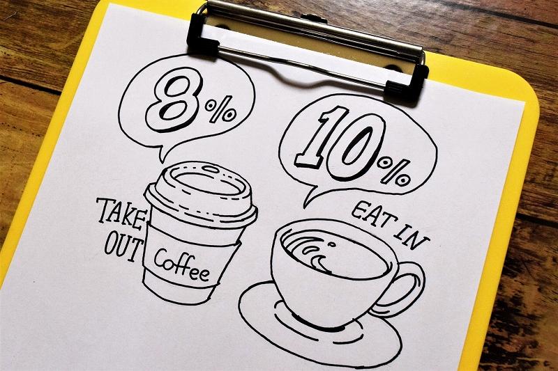 【飲食業の軽減税率】制度の概要と経理処理について