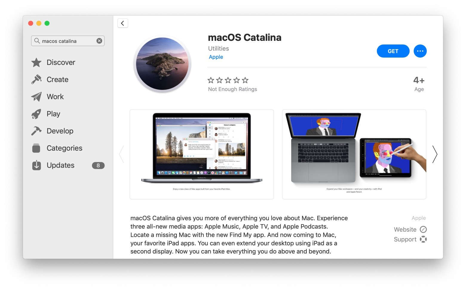 MacOS Catalina Download Now Available to All Mac Users