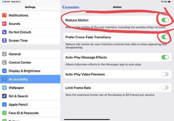 How to enable Reduce Motion on iPhone and iPad